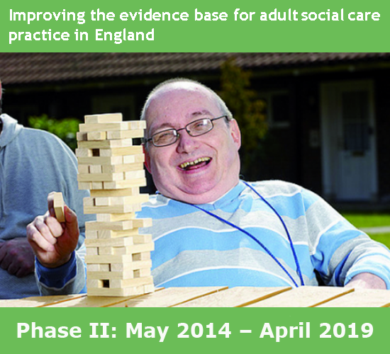 Improving the evidence base for adult social care in England